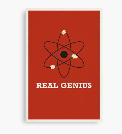 Real Genius Canvas Print