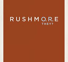 Rushmore by Matt Owen