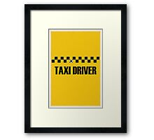Taxi Driver Framed Print