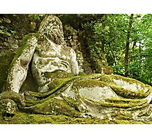 Neptune in the Woods-Parco dei Mostri, Italy Photographic Print