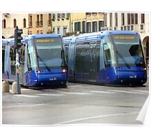 Blue Trams Poster