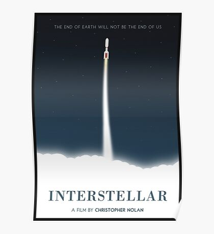 Interstellar film poster Poster