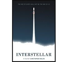 Interstellar film poster Photographic Print