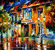 Art of Joy  - original oil painting on canvas by Leonid Afremov by Leonid  Afremov