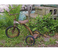 Magic Tricycle Photographic Print
