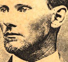 Jesse James Sticker
