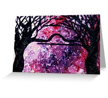 Astrolotree Series - Libra Greeting Card