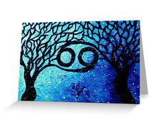 Astrolotree Series - Cancer Greeting Card