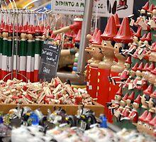 Pinocchio souvenirs in Verona by Martina Fagan