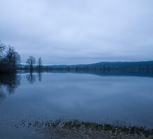 Blue horizon by Ian Middleton