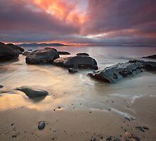 Cartwright Point Sunrise, Taroona, Tasmania #2 by Chris Cobern