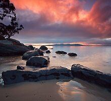 Cartwright Point Sunrise, Taroona, Tasmania by Chris Cobern