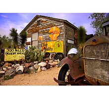 The general store in Hackberry, Route 66 Photographic Print