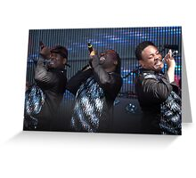 Rewind festival 2011 Earth Wind and Fire Greeting Card