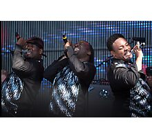 Rewind festival 2011 Earth Wind and Fire Photographic Print