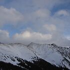 Colorado Rocky Mountains in December by tscp