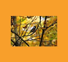 Chickadee In Autumn Womens Fitted T-Shirt