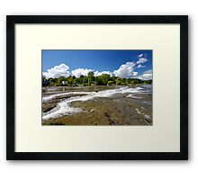 Rivers of water Framed Print