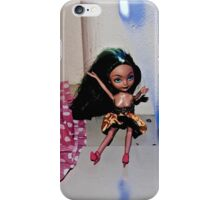 Blue Light Emo Barbie iPhone Case/Skin