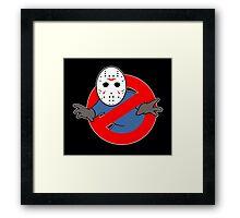 Ghostbusters (Jason Voorhees) Framed Print
