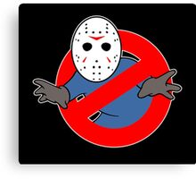 Ghostbusters (Jason Voorhees) Canvas Print