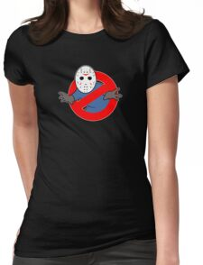 Ghostbusters (Jason Voorhees) Womens Fitted T-Shirt