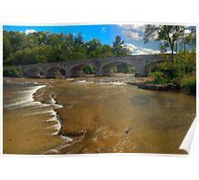 Pakenham Bridge - Pakenham, Ontario Poster