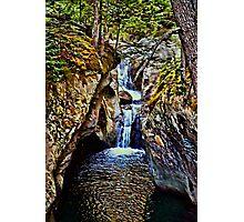 Texas Falls Vermont Photographic Print