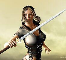 Ready for Battle by Sandra Bauser Digital Art