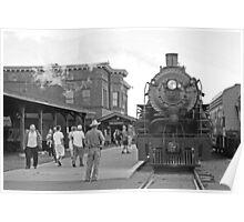 Steam Engine 2719 Poster