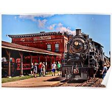 Soo Line Steam Engine 2917 Poster
