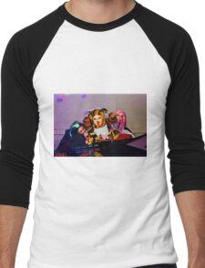 DJ Groupie Doll Gang  Men's Baseball ¾ T-Shirt