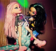 Pole Dancing Selfie Dolls by jlara
