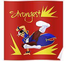 Chun-Li's sweep Poster