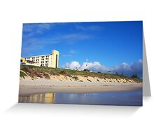 North Cottesloe Clouds Greeting Card