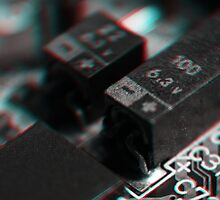 Anaglyph Circuitry 4 by Daniel Owens