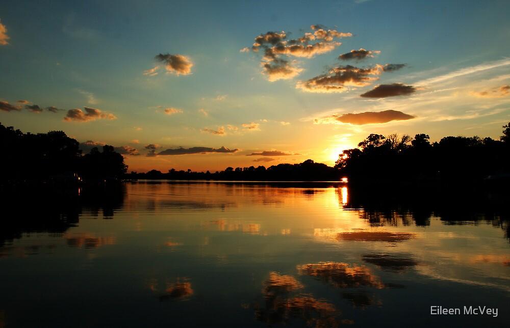 August Setting Sun by Eileen McVey