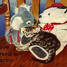 You're Invited To A Party!  Invitation by Patricia Barmatz