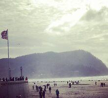 Seaside Scene by DeathlyMad