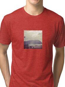 Seaside Scene Tri-blend T-Shirt