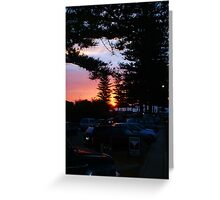 Cottesloe Sunset 01 Greeting Card
