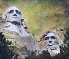 Mount Rushmore - My Impression by Jeff Burgess