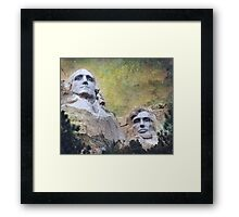 Mount Rushmore - My Impression Framed Print