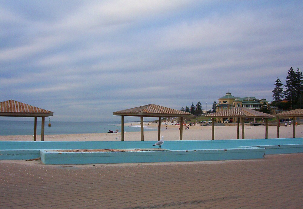 Cottesloe Swimpool Two by Robert Phillips