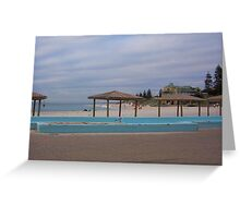 Cottesloe Swimpool One Greeting Card