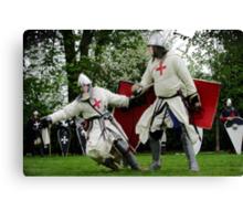 Knights Templar Canvas Print