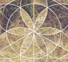 Geometric Trail Sticker
