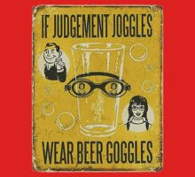 Beer Goggles Sign Kids Clothes