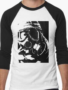 mask of fear Men's Baseball ¾ T-Shirt