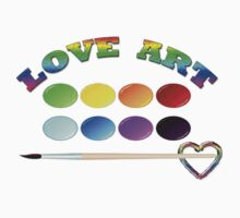 LOVE ART/ T-SHIRT by haya1812